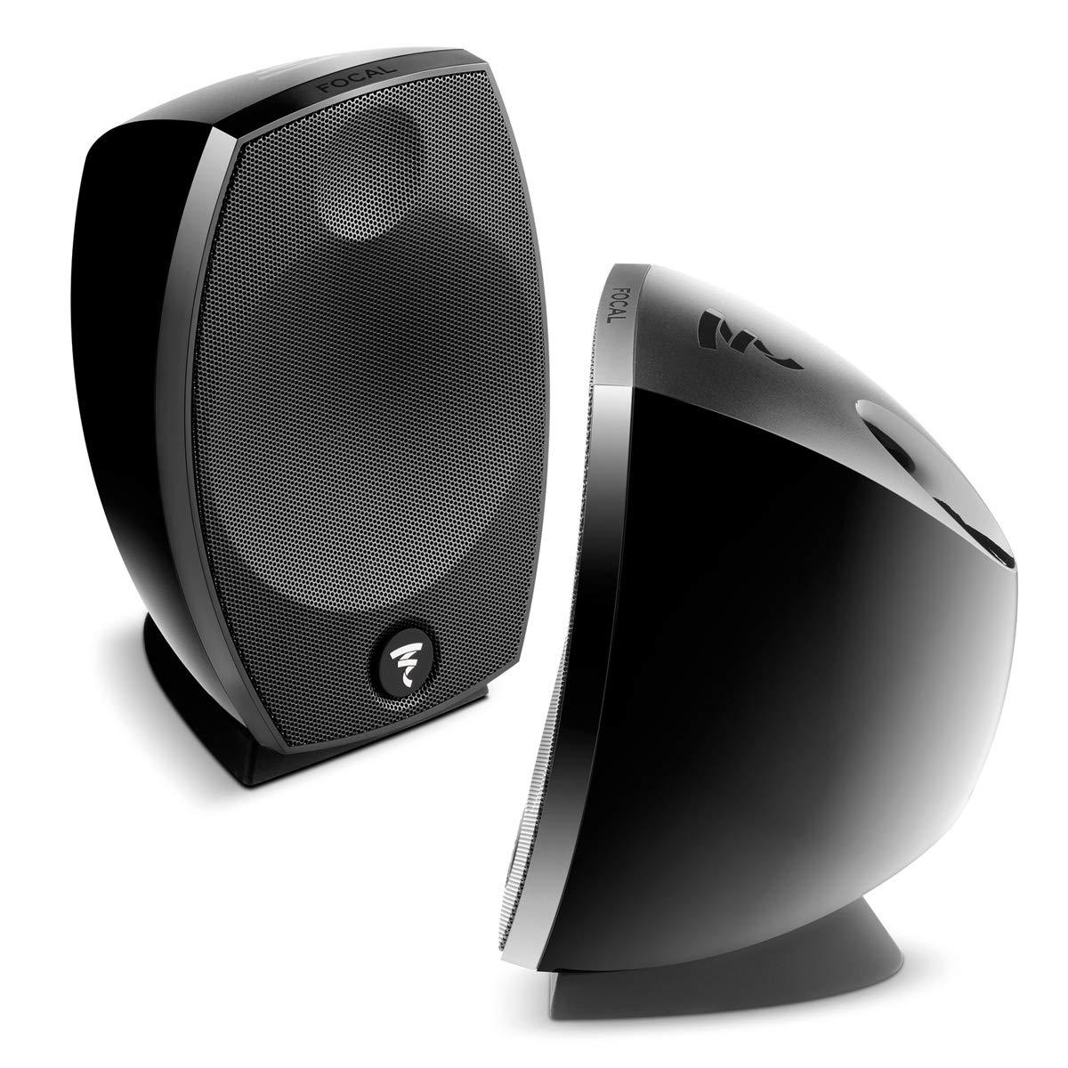 Focal SIB Evo 2.0 2-Way Bass-Reflex Satellite Loudspeakers - Pair (Black) by Focal