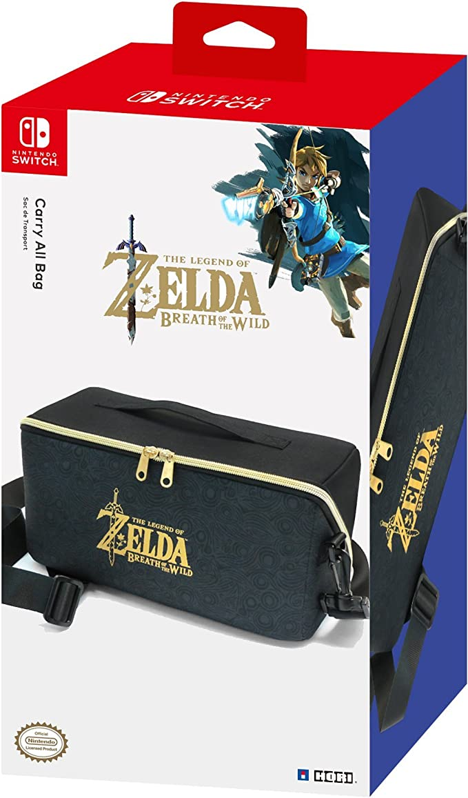 Hori - Bolsa De Transporte Zelda (Nintendo Switch): Amazon.es ...