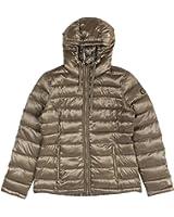 Calvin Klein Women's Reversible Printed Puffer Coat