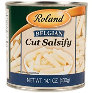 Roland Foods Belgian Cut Salsify, Specialty Imported Food, 14.11-Ounce Can