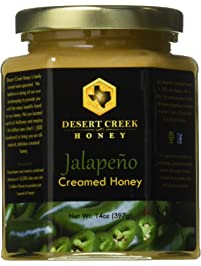 Desert Creek Honey Jalapeño Creamed Honey, 14 oz.