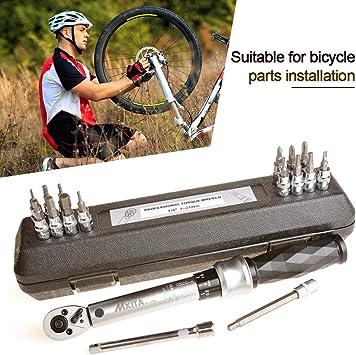 favourall – Llave dinamométrica para Bicicleta, 17 Unidades ...