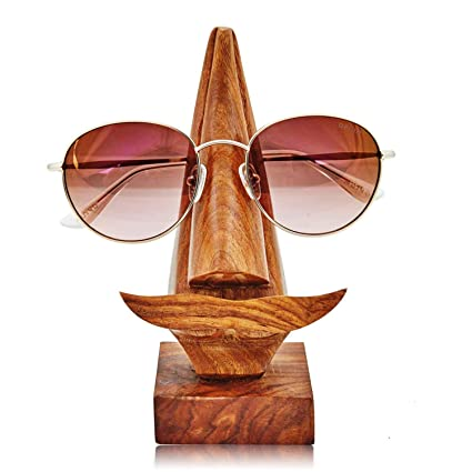 8d4f9e08d Fun Birthday Gift Ideas Handcrafted Movember Rosewood Reading Glasses Stand  Spectacle Stand or Eye Glass Holder