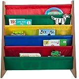 Sagler Kids Bookshelf – Toddler Book Shelf Organizer for Kids – Kids Book case Storage Bookshelf - 5 Pockets Kids Bookcase an
