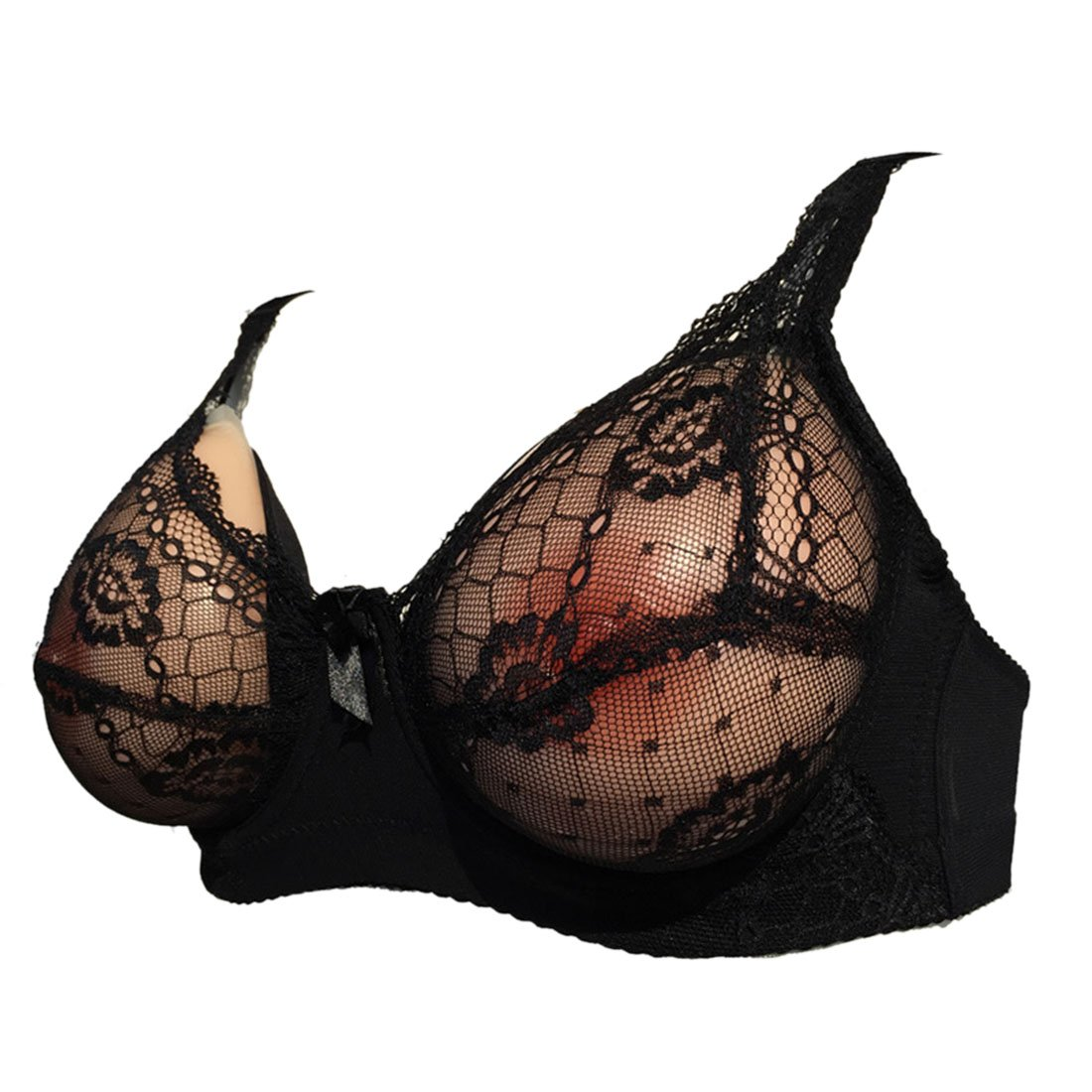 Freahap Lace Breast Form Pocket Bra for Crossdressers Mastectomy YV0146/HFUS