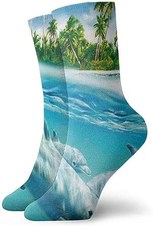 Calcetines para nadador en acción personalizados para