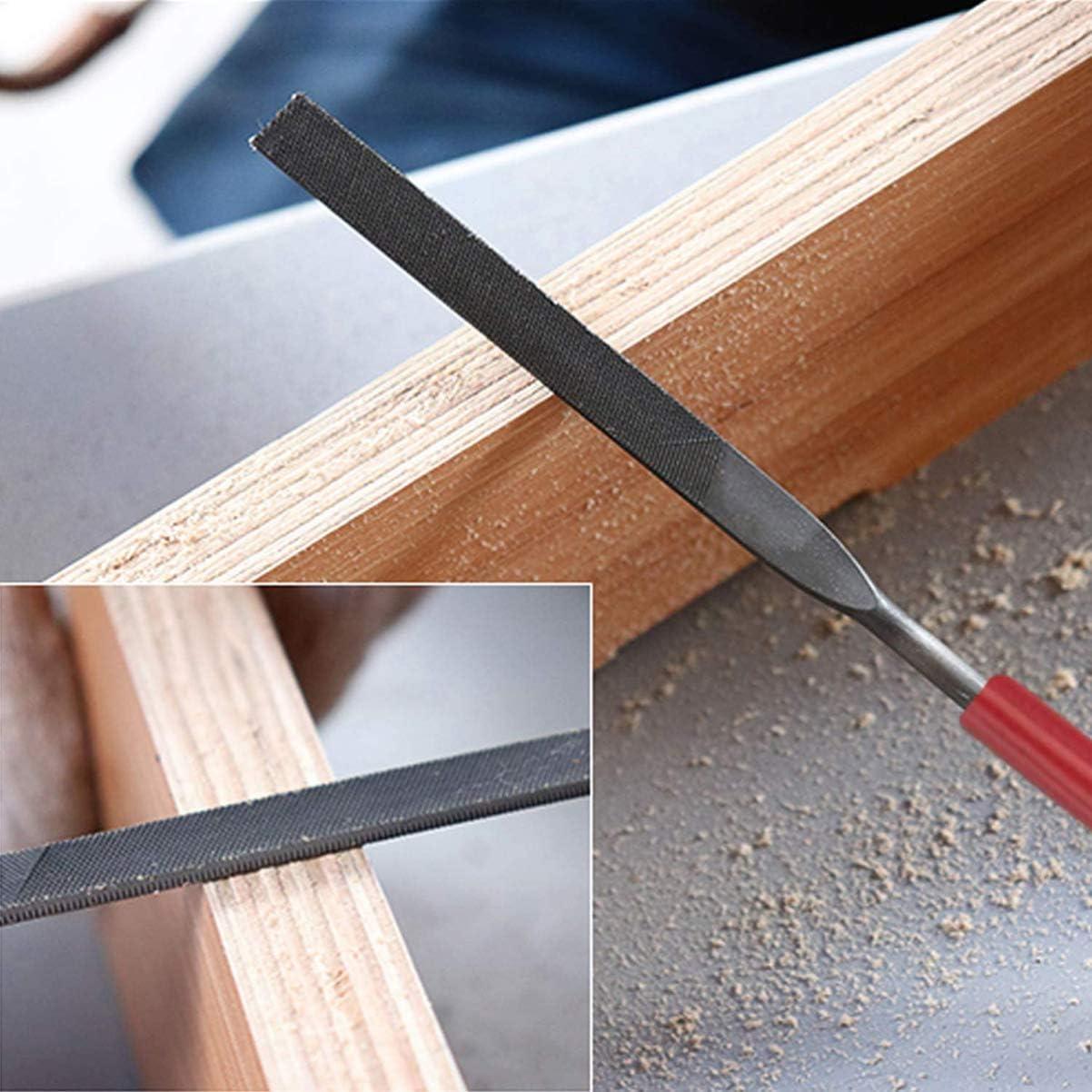 16Pcs TEHAUX Diamond Needle File Set Small File Set Multipurpose Diamond Steel File Set for Metal Sanding//DIY//Woodworker