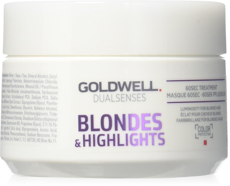 Oro Well dualsenses Blondes & Highlights 60Seconds Treatment de cuidado Kur, 1er Pack (1x 200ml) Goldwell Dualsenses 206121
