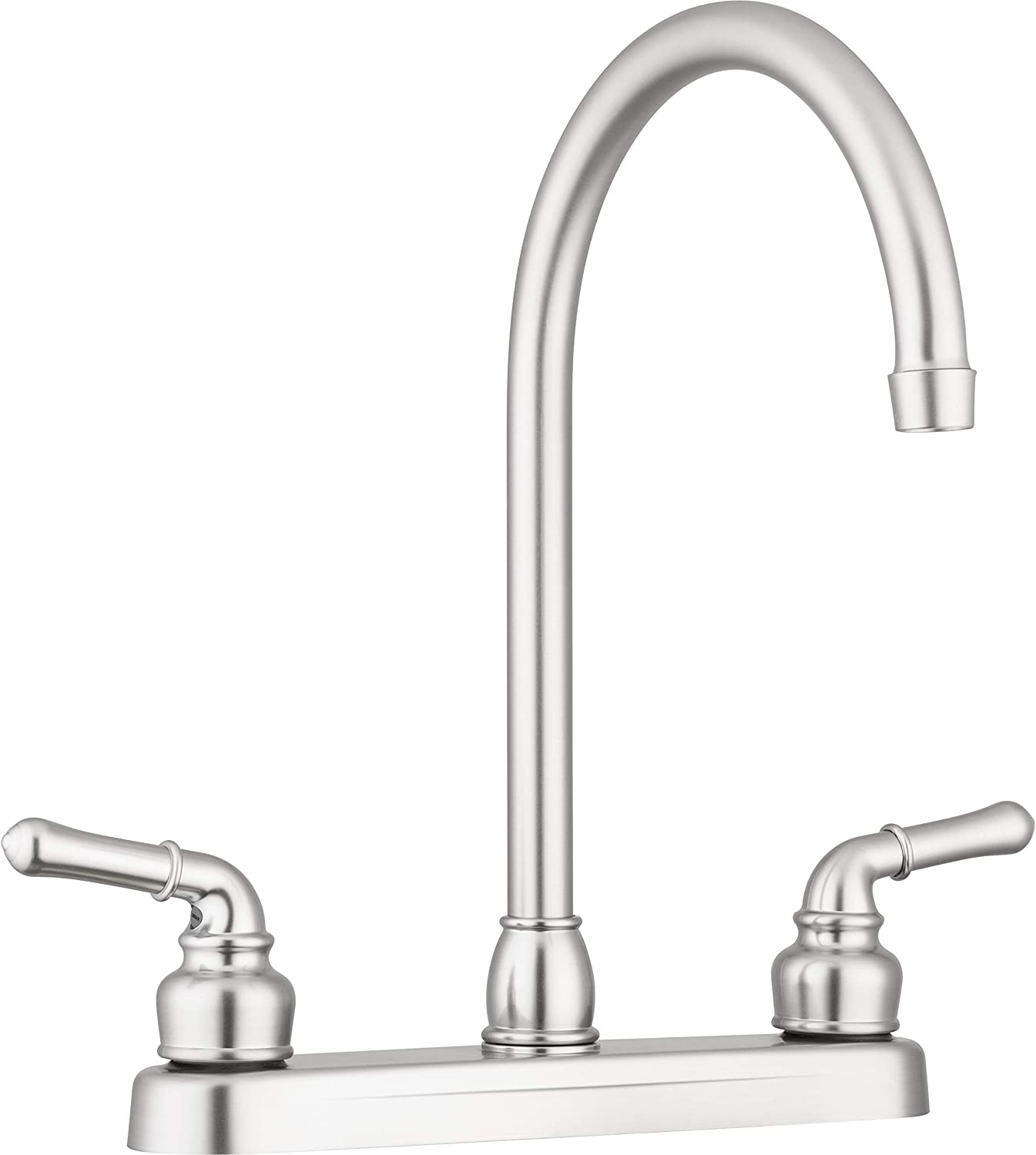 Pacific Bay Lynden Kitchen Sink Faucet Brushed Satin Nickel Plating Over Abs Plastic Amazon Com