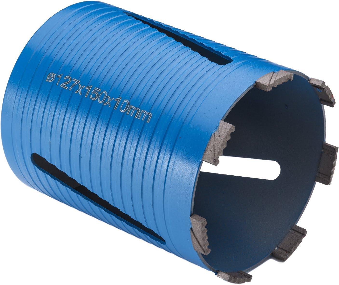 Blue 107 x 150 mm Premier Diamond DC12659 P5-EDDC EVODRILL Premium Dry Core Drill