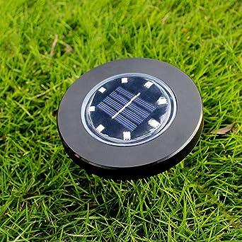 SO-buts - Luz solar para jardín, luces solares para el suelo, resistente al agua, paisaje y pinchos para patio, paseo, césped: Amazon.es: Iluminación