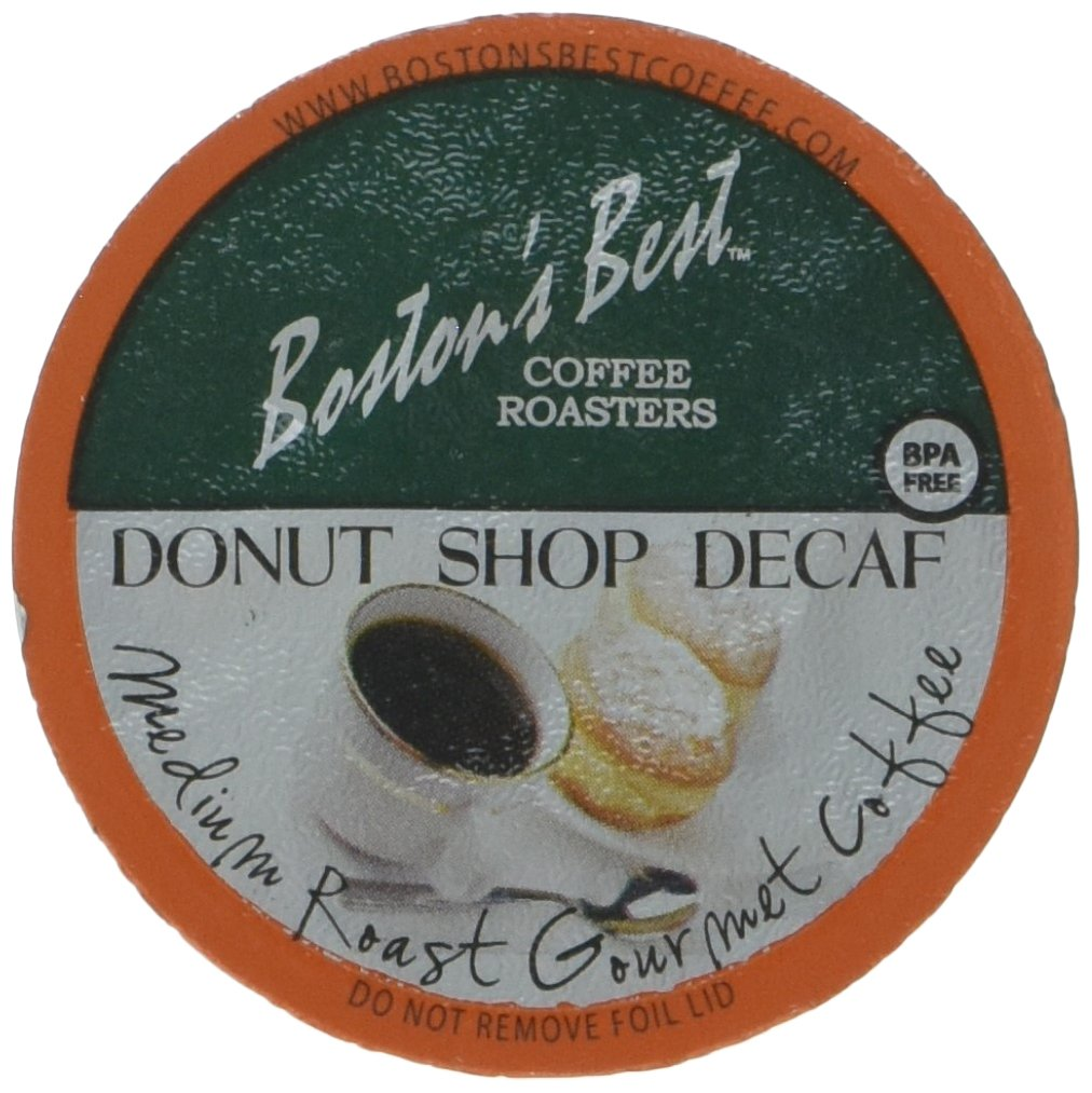 Boston's Best Single Serve K-Cup Coffee, Donut Shop Decaf, 80 Count by Boston's Best