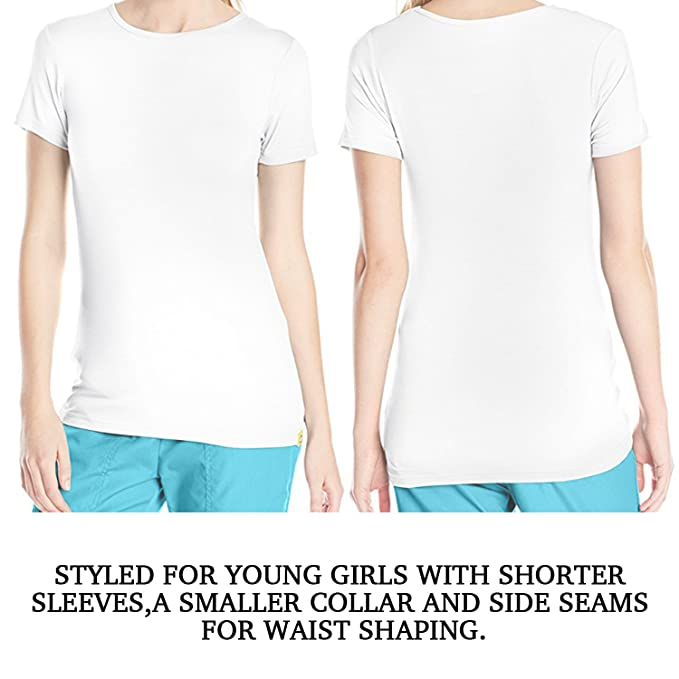 9bd0b7e79 Amazon.com  COOL TEE Ivory Ella Gift Lover 3D Print Women Tops Funny Crew  Neck Short Sleeve T-Shirts  Clothing