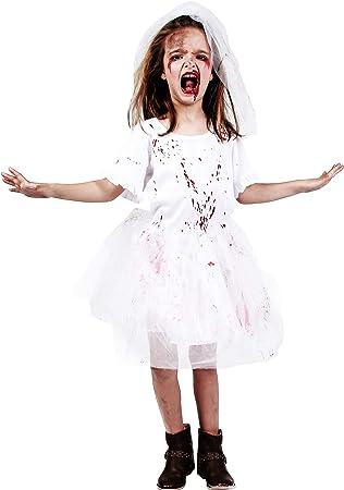 DYSMAD Gojoy Shop- Disfraz de Novia Cadáver para Niño para ...