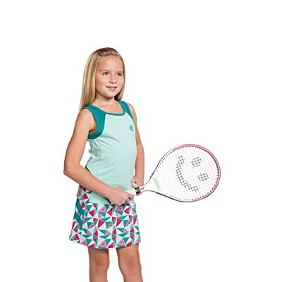 Street Tennis Club Girls Tennis Tank and Skirt Set with Built in Shorts