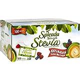 SPLENDA Naturals No Calorie Stevia Sweetener, Single-Serve Packets (500 Count)