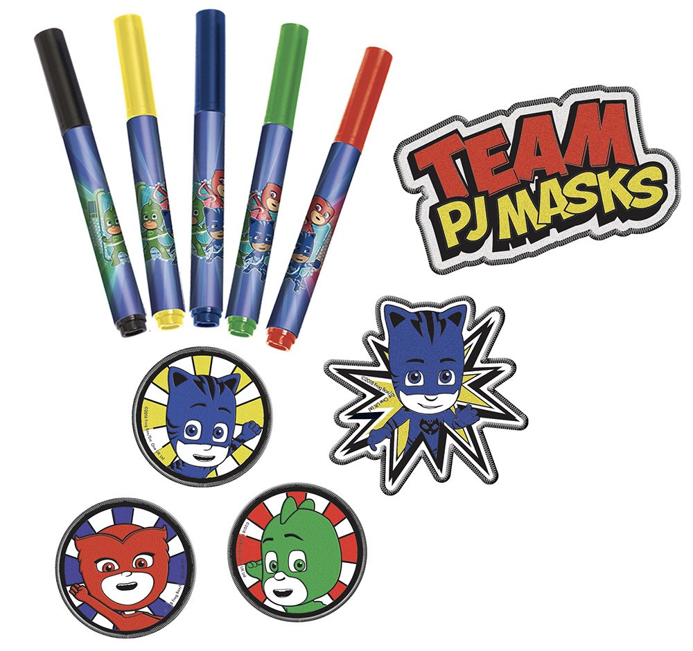 Canal Toys - PJ máscaras Patches de para Colorear, Pjc 001: Amazon.es: Juguetes y juegos