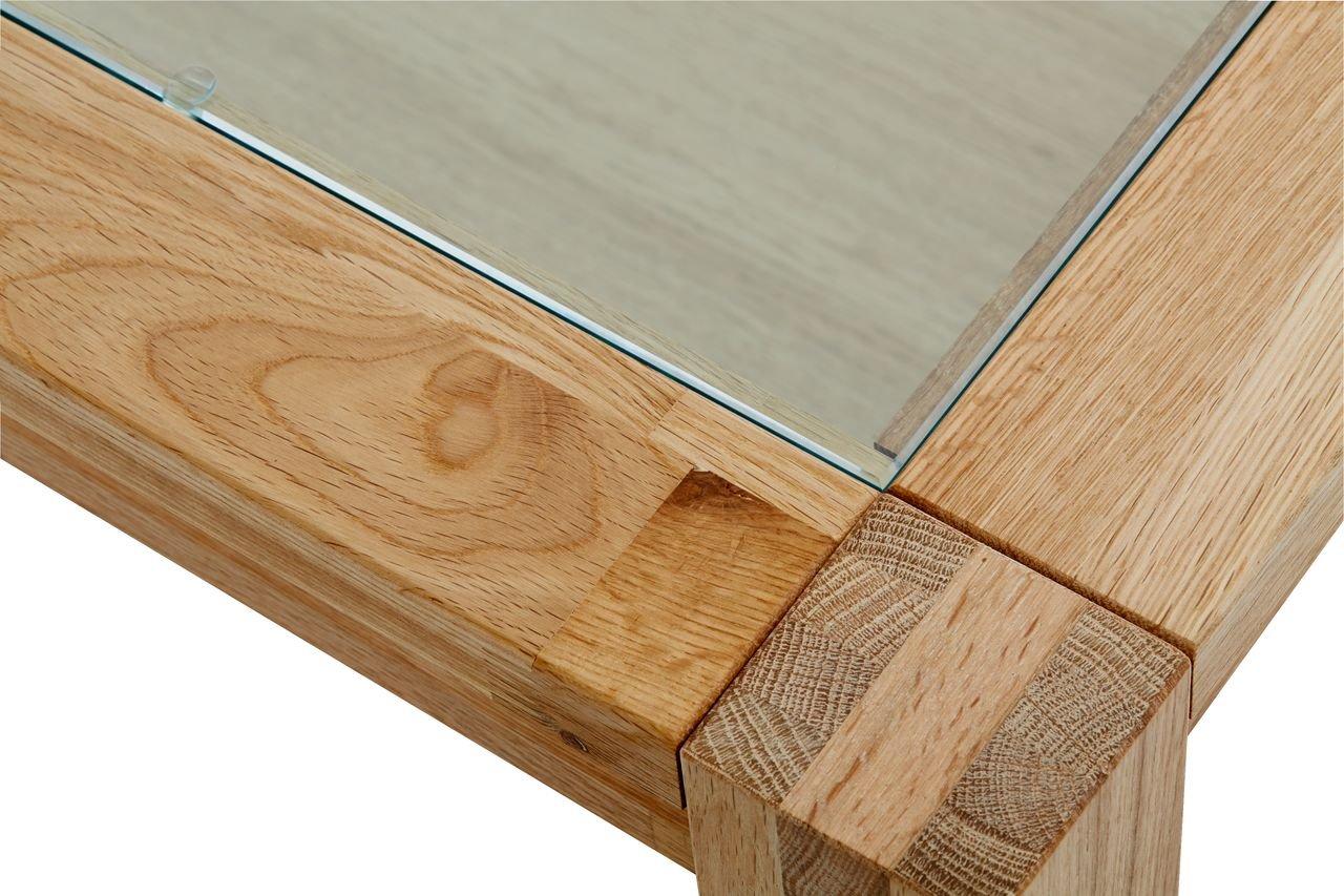 Salle De Bain Carrelage Beige Marron ~ jysk table basse svaneke 70 x 70 cm en verre ch ne amazon fr