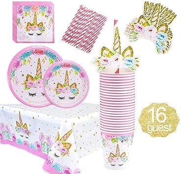 Amazon.com: Juego de accesorios de decoración para fiestas ...