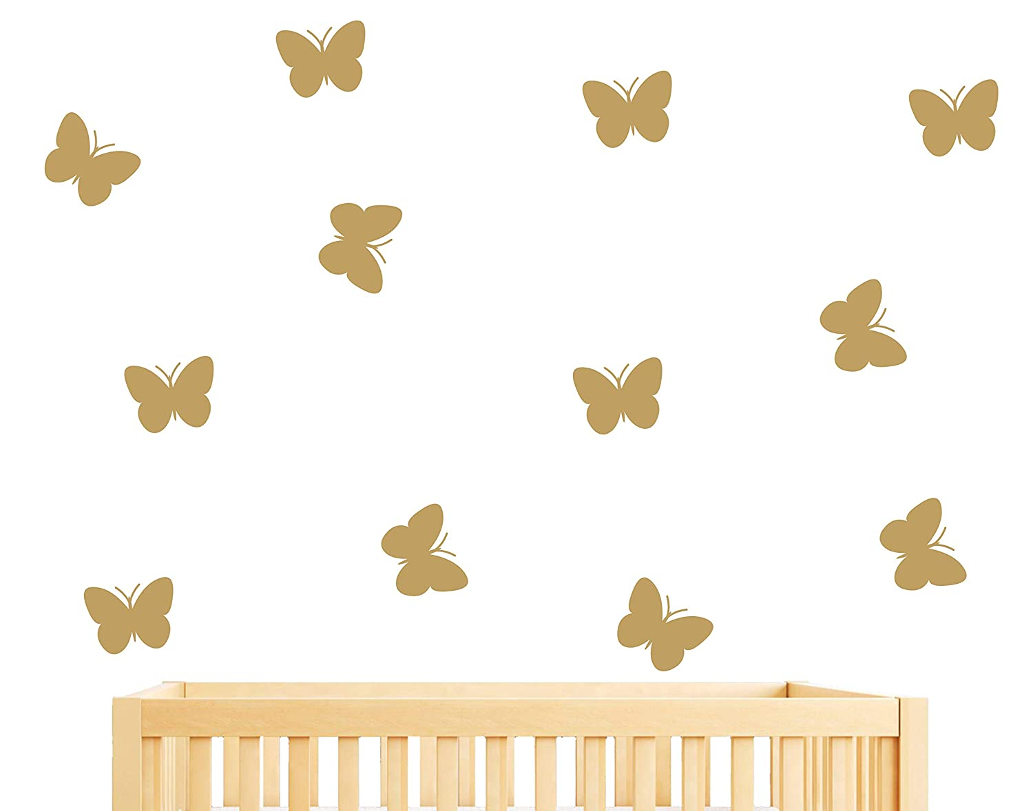 Superb Amazon.com: 36Pieces DIY Butterfly Wall Stickers, Wall Decals, Kids Room  Wall Decals, Wall Decal For Girls, Home Decor, Nursery Decoration (A18)  (Dumb ...