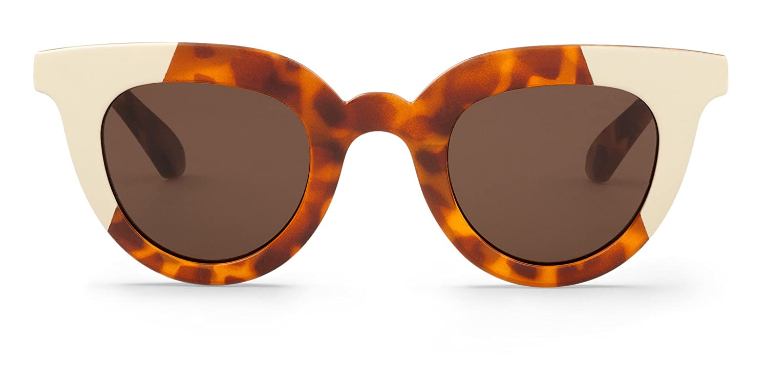 Mr Boho Cream/Leo Tortoise Hayes with Classical Lenses, Gafas de Sol para Mujer, 44: Amazon.es: Ropa y accesorios