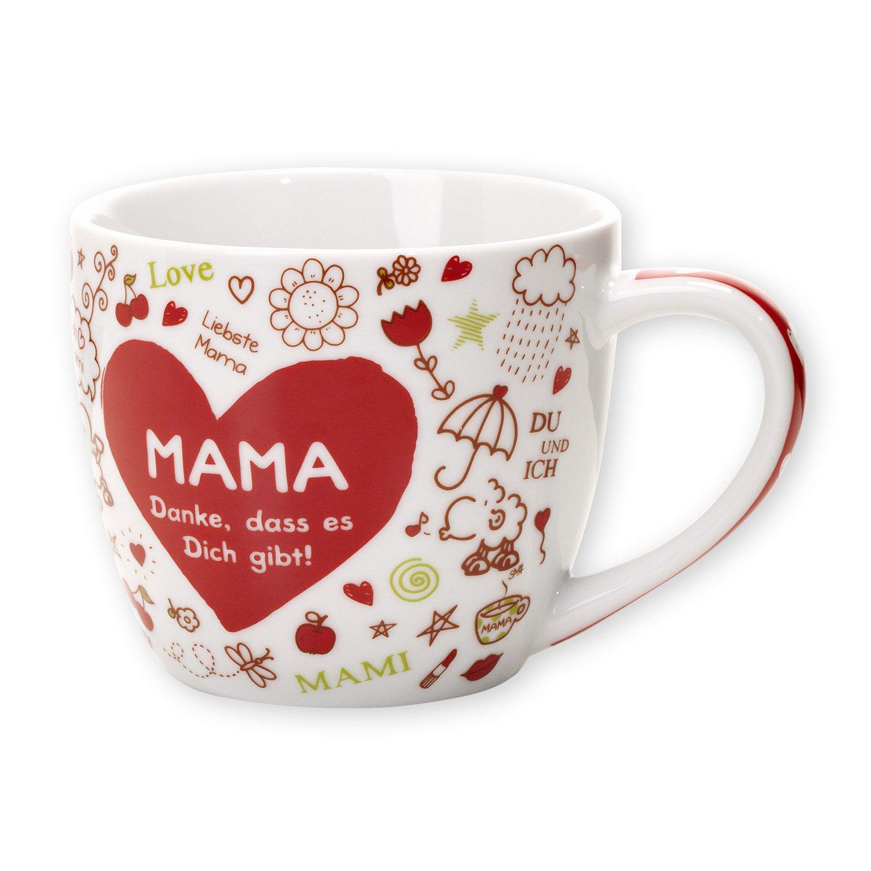 Sheepworld 42907 Tasse MAMA - Danke, dass es Dich gibt!: Amazon.de ...