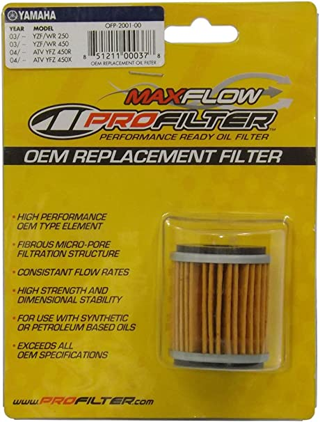 Oil Filter 3 Pack Yamaha YFZ 450 YFZ 450 All 2007-12 HF140