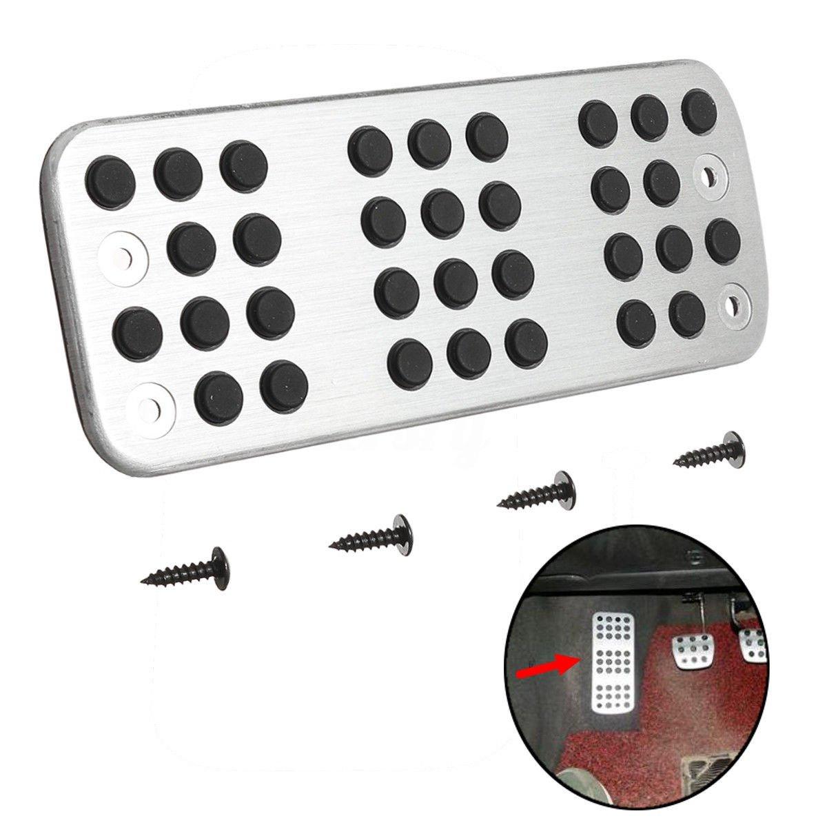 Fuß ablage Platte Fuß stü tze Foot Rest plate Pedalkappen Fü r 206 206CC 207 ICTRONIX