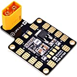 Matek PDB , Power Distribution Board , 6 ESC Output ( Input 9-18V , PDB 4*25A or 6*15A , BEC 5V&12V , with XT60 , 1,6mm PCB ) for X or H Design FPV Racing RC Drone Quadcopter by LITEBEE