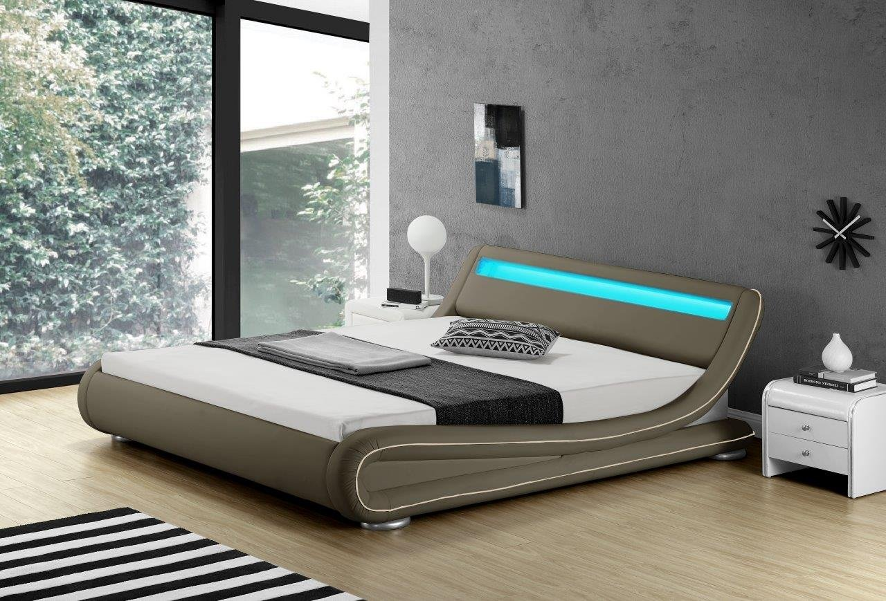 beste kunstleder bettrahmen fotos bilderrahmen ideen. Black Bedroom Furniture Sets. Home Design Ideas