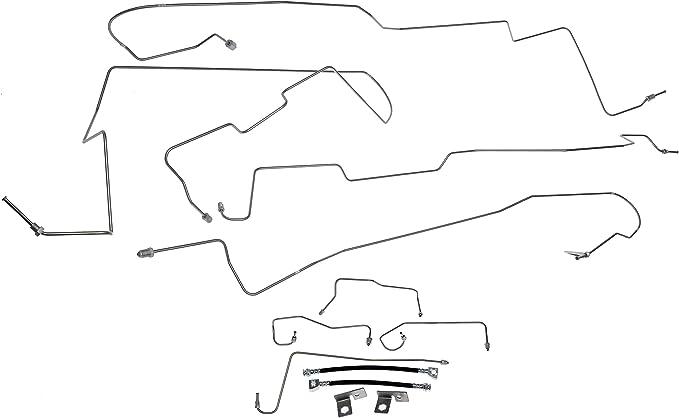 Brake Hydraulic Line Kit For 1997-2000 Ford F150 RWD 1998 1999 Dorman 919-229
