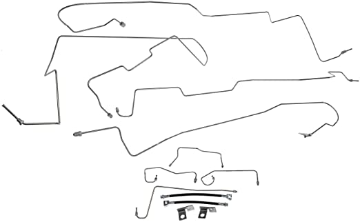 Amazon Com Dorman 919 170 Stainless Steel Brake Line Kit Automotive