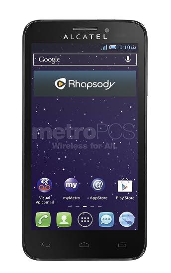 Alcatel One Fierce Prepaid Phone (MetroPCS)