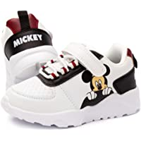 Disney Mickey Mouse Trainers Kids Classic White Sports Sneakers