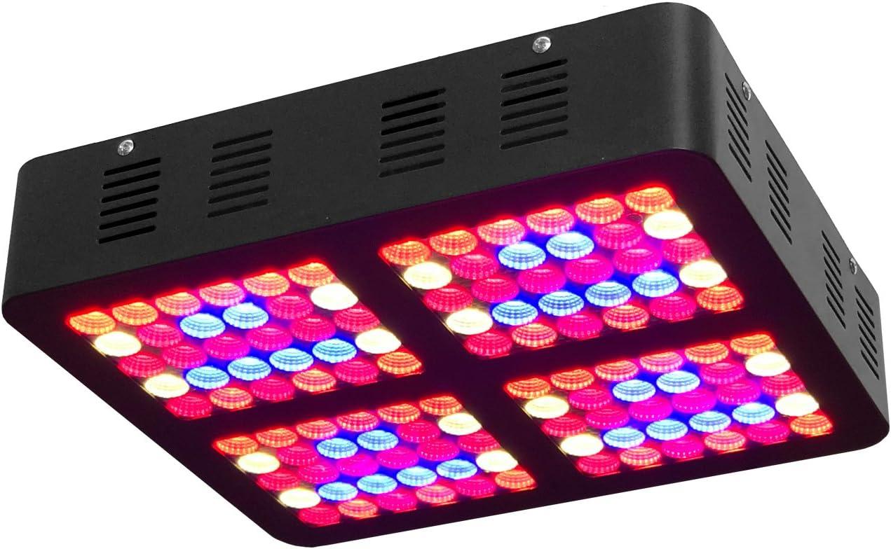 TopoGrow 600W LED Grow Light Kit for Hydroponic Plant Grow System LED600W Grow Light kit