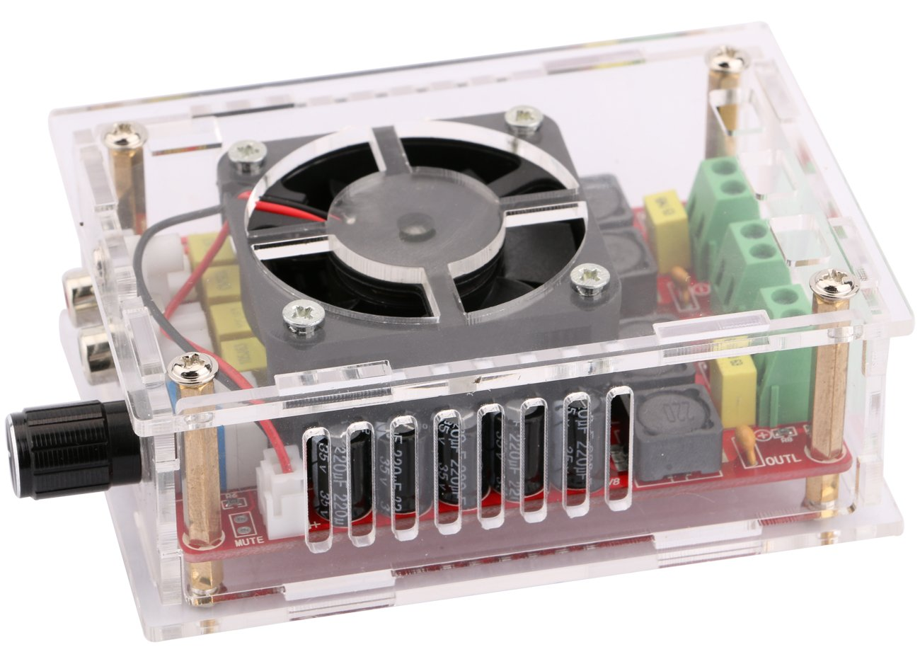 Audio Amplifier Module Yeeco Digital 2 Dc12v To Dc28v Converter With Lm2585 Channel 100w Board Dc 9 34v Dual Car