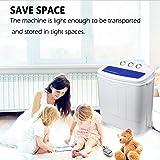 Display4top Portable Compact Double-Tub Washing