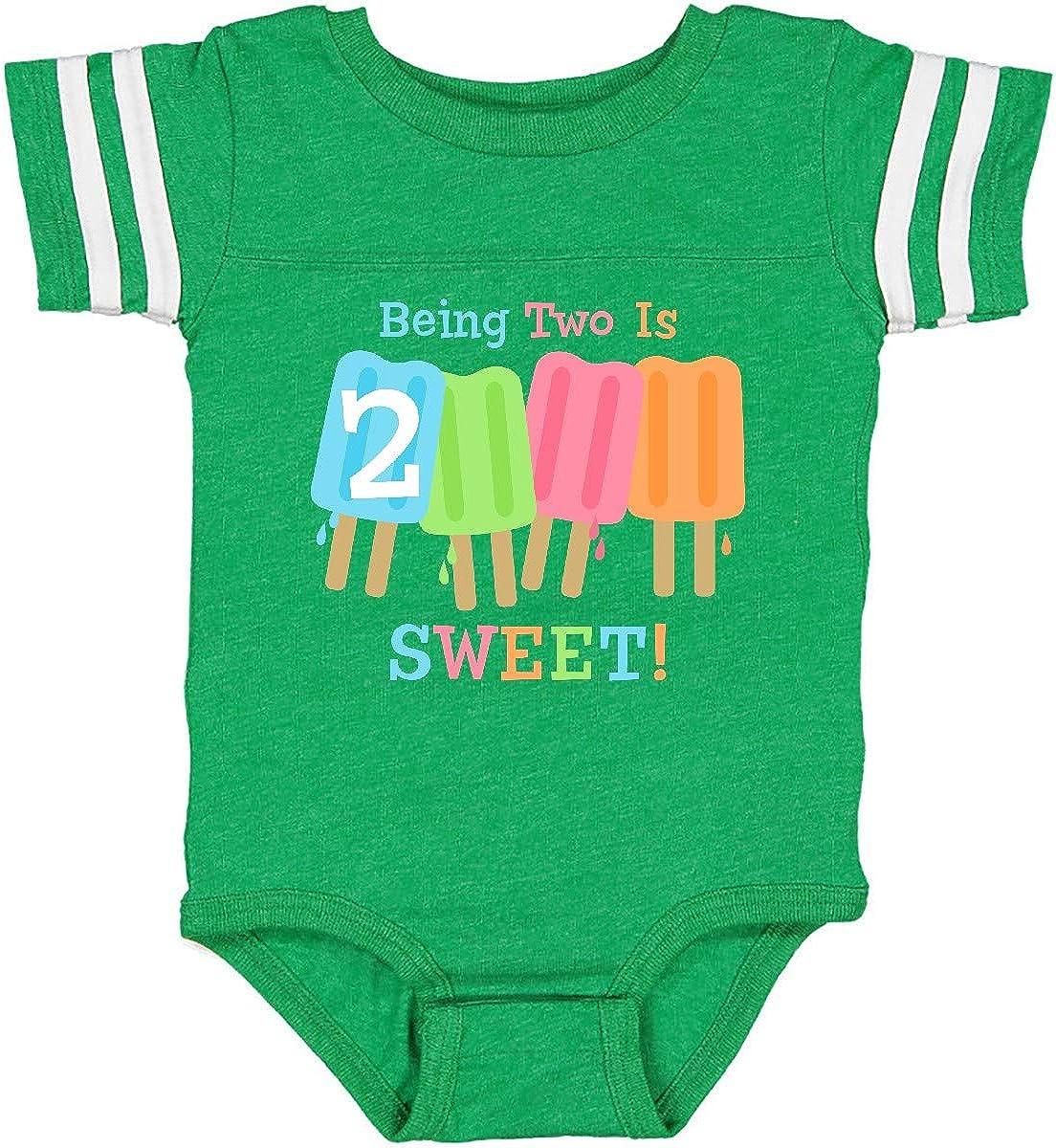 inktastic Ice Pop 2nd Birthday Infant Creeper