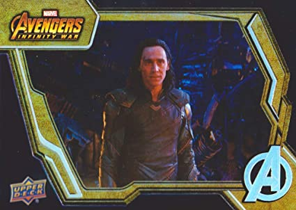 2018 Upper Deck Marvel Avengers Infinity War Tier 1 Base Set Trading Card #7