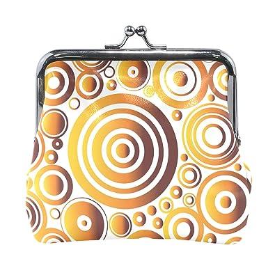 Amazon.com: LALATOP - Monedero con diseño de círculos ...