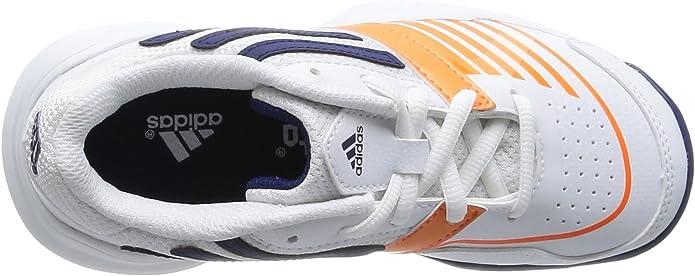 Adidas - ADIDAS GALAXY ELITE III K F32833 - W12478, blanco - Weiß (RUNNING WHITE FTW / NIGHT BLUE F13 / SOLAR ZEST), 35.5: Amazon.es: Zapatos y complementos