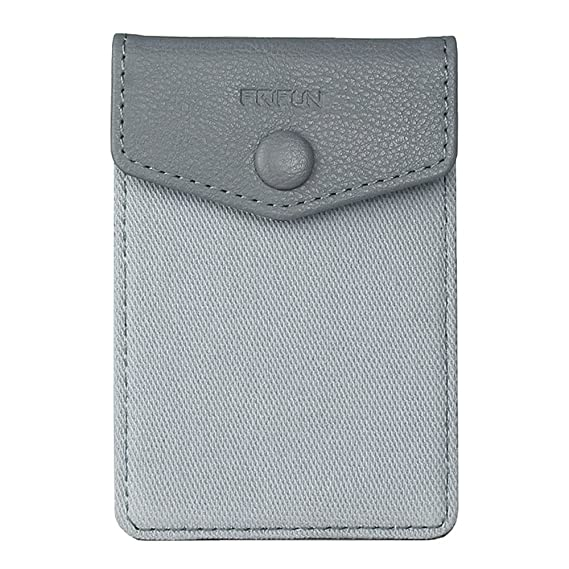 premium selection e55ea e05c5 FRIFUN Cell Phone Wallet Ultra-slim Self Adhesive Credit Card Holder Stick  on Wallet Cell Phone Leather Wallet For Smartphones RFID Blocking Sleeve ...
