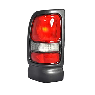 Left Driver Side Tail Light Assembly For 1994-2001 DODGE RAM 1500 1994-2002 DODGE RAM 2500 1994-2002 DODGE RAM 3500 CH2800122: Automotive