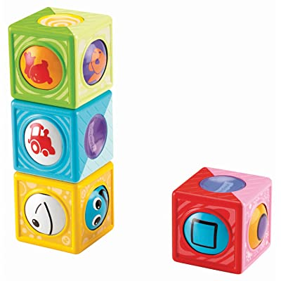 Fisher-Price Roller Blocks, Vehicles and Shapes: Toys & Games [5Bkhe0507100]