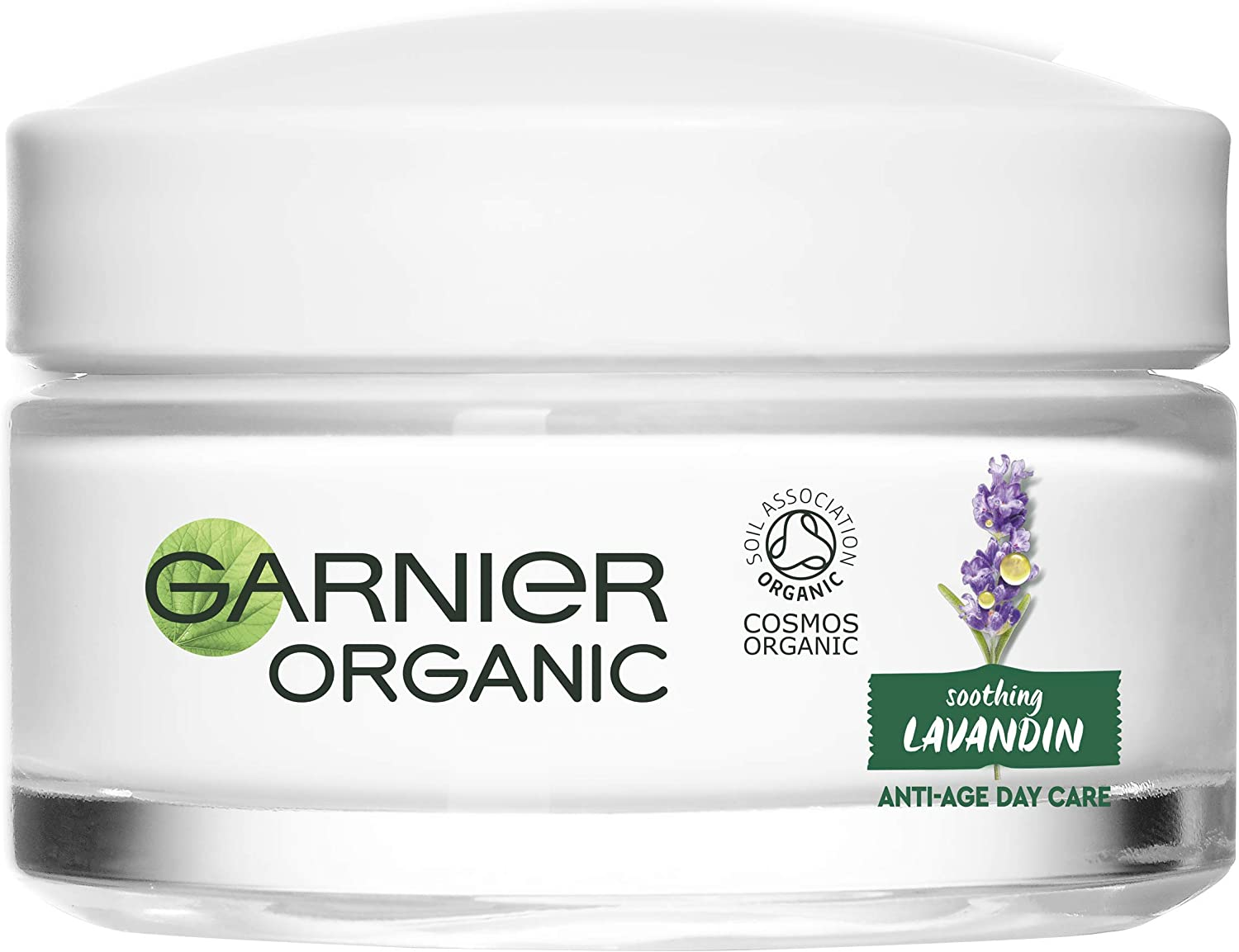 Hand cream with organic pure essential oil of lavender and lavandin