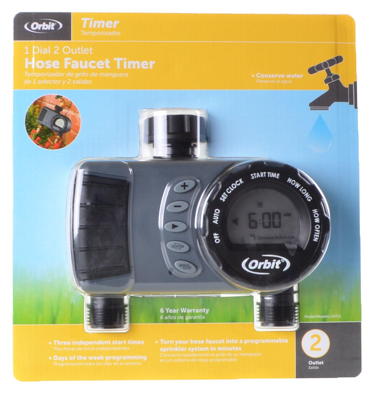 Amazon.com : Orbit Digital Hose Sprinkler Irrigation Timer for ...