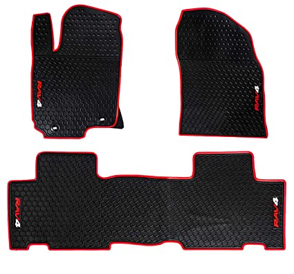 Image Unavailable. Image not available for. Color: HD-Mart Car Floor Mats Rubber for Toyota RAV4 ...