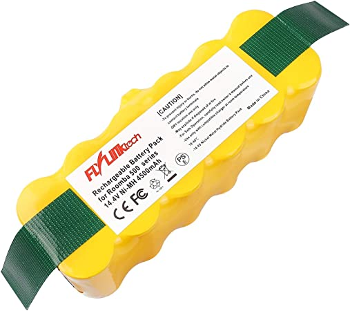 FLYLINKTECH 14.4V 4500mAh Ni-MH Aspiradoras de Repuesto Batería ...