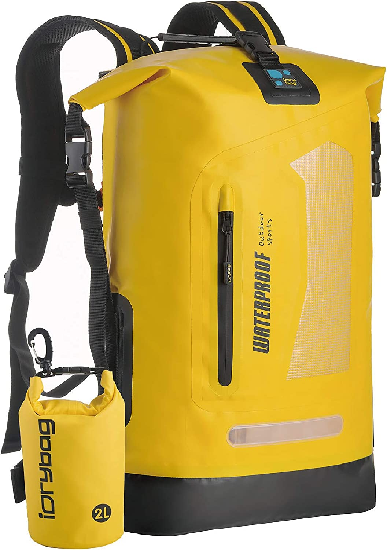 IDRYBAG Waterproof Dry Bag Dry Sack, Lightweight Dry Backpack Water Sport, Hiking Dry Backpack Shoulder Straps 20L/30L/40L