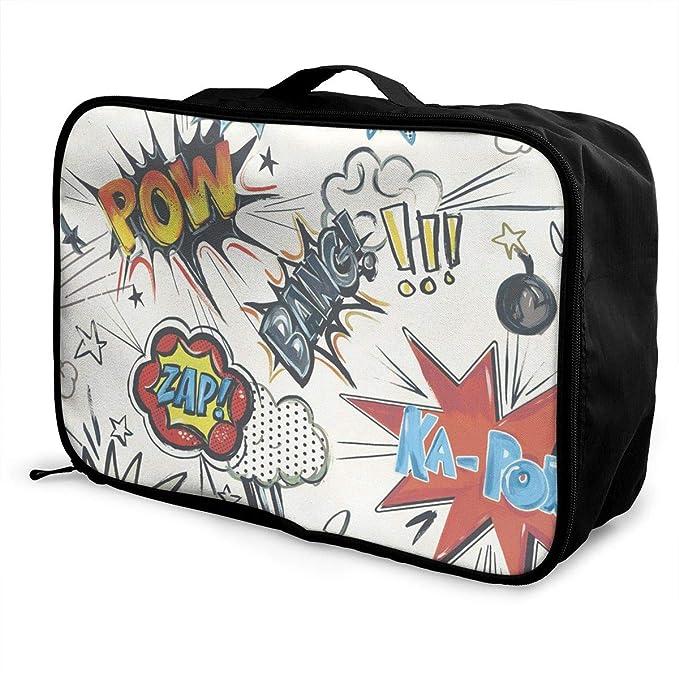 1e6077cb615b Amazon.com: POW Zap Travel Lightweight Large Capacity Portable ...